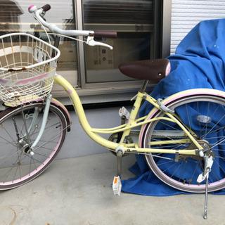 22インチ 子供 自転車 イエロー?