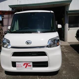 タント4WD平成28年式11.8万キロ車検2年付きも可能!