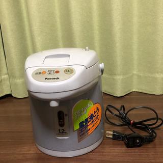 【ネット決済】ピーコック 電気沸とうエアーポット(カルキとばし)...