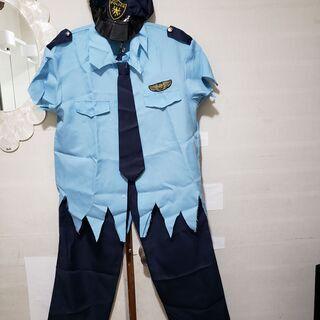 季節外れのハロウィン衣装 POLICEゾンビ