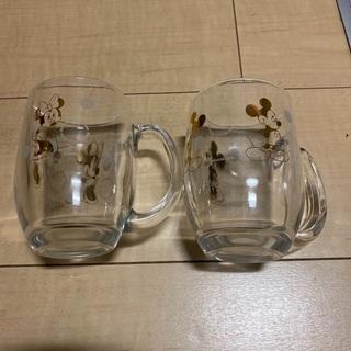 ミッキーミニーペアグラス2