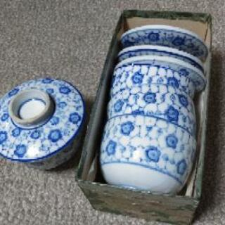4組 茶碗蒸しのお椀 100円