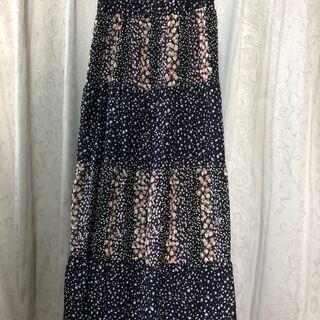 小花柄キャミソールワンピースCamisole dress M
