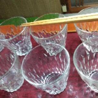 小さめのグラス7個 0円