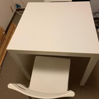 【ネット決済】IKEA ダイニングテーブル MELLTORP/ ...