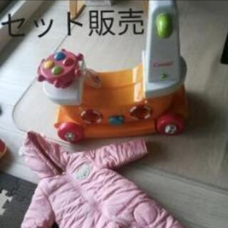 combi 手押し車 カー おもちゃ&防寒 カバーオール …