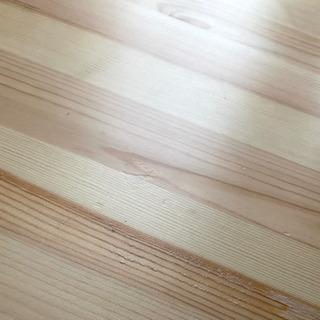 無印良品 パイン材ローテーブル・折りたたみ式 - 家具