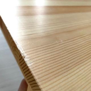 無印良品 パイン材ローテーブル・折りたたみ式 - 名古屋市