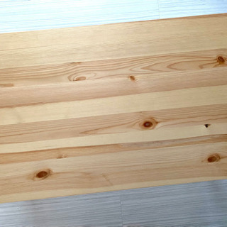無印良品 パイン材ローテーブル・折りたたみ式の画像