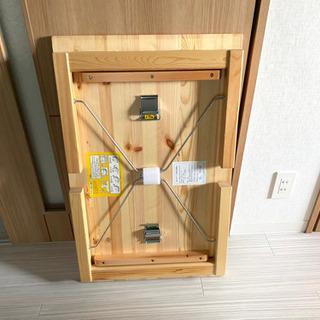 無印良品 パイン材ローテーブル・折りたたみ式 − 愛知県