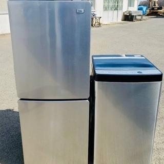 😍激安2点セット😍洗濯機・冷蔵庫❗️保証付き✨高年式✨おしゃれ家...