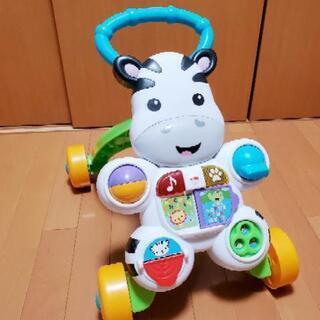 【おもちゃ】 フィッシャープライス おして!しまうまくんの…