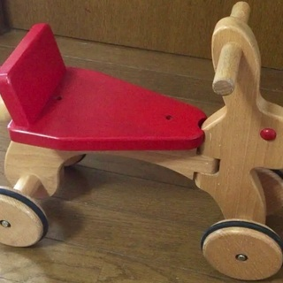 コイデ(KOIDE)★日本製★木のおもちゃ★ラビット★4輪Car