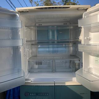 【ネット決済】SHARP 大型冷凍冷蔵庫 中古 大容量 2005年式