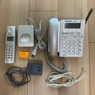 Panasonic コードレス電話機 VE-GP32DL