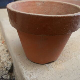 素焼き植木鉢3号(深鉢)