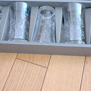 ビールグラス(小さめ)5個セット(未使用)