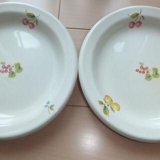 明和窯 平皿2枚セット