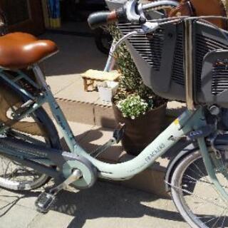 子ども乗せ自転車 二人乗せ ふらっかーず 丸石サイクル 非…