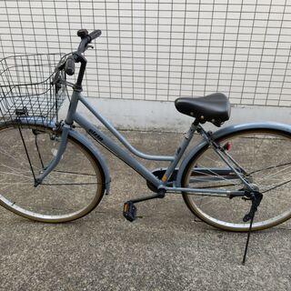 【お話し中】27インチeirin自転車 ブルー
