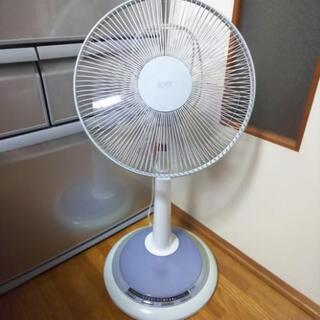 ランプ付きイオン扇風機
