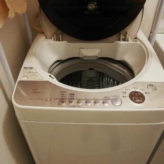 シャープ洗濯機、5,5キロ