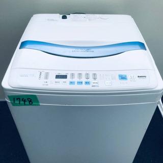 ④‼️7.0kg‼️1748番 SANYO✨全自動洗濯機✨…
