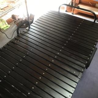 アイリスオーヤマ 折り畳みすのこベッド