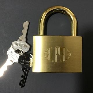 新品未使用‼️ 南京錠 アルファ60サイズ(鍵)