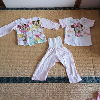 ディズニーパジャマ 半袖 長袖セット 90cm