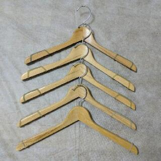 木製ハンガー 5本