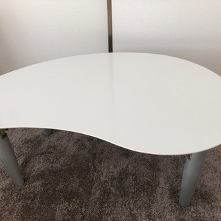 【お譲りします】ホワイト ローテーブル
