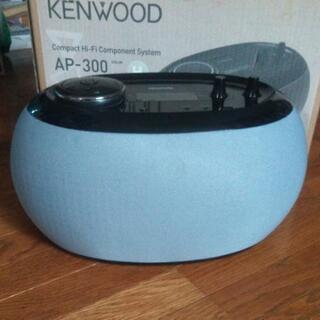 【ネット決済】KENWOOD CDラジオ 未使用に近い
