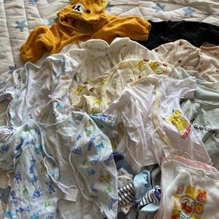 新生児肌着と服