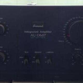Sansui AU-D607 アンプ