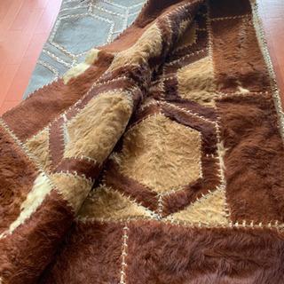 毛物の絨毯