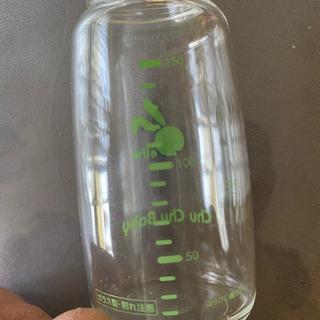 ガラス製哺乳瓶セット