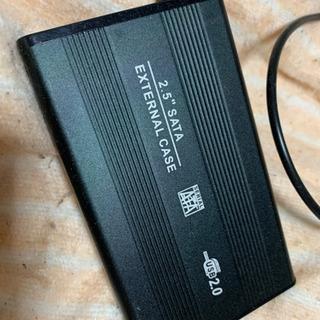 外付けモバイルHDD320GB USB④