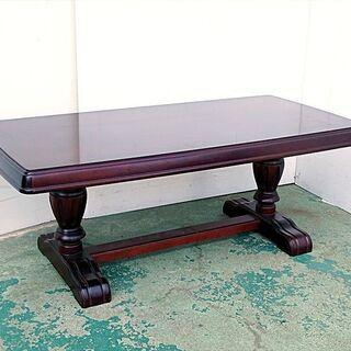 山口)下松市より カリモク センターテーブル 全長106×…