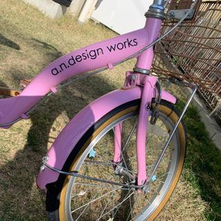 子ども 18インチ 自転車 ピンク − 愛知県