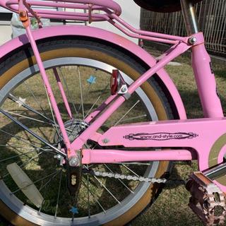 子ども 18インチ 自転車 ピンク - 自転車