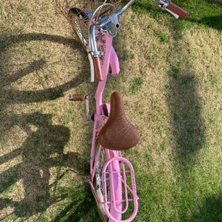 子ども 18インチ 自転車 ピンク - 北名古屋市