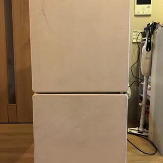 2ドア 冷蔵庫ミニ 110リットル