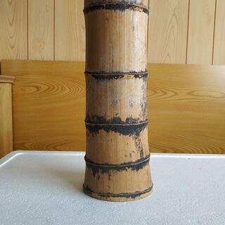 竹製の一輪挿し