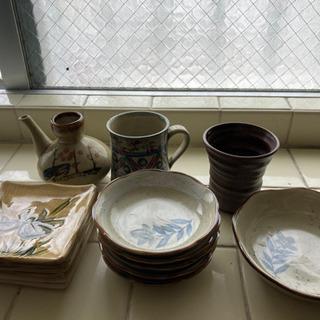 焼物食器セット【4月18日処分予定】