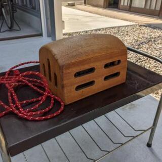 昭和レトロ‼️希少‼️電気コタツ(木製)