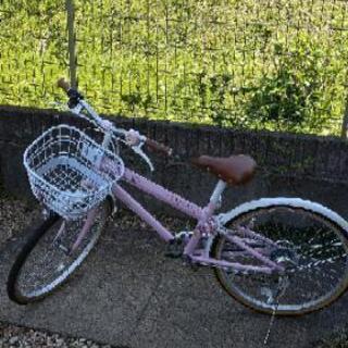 マハロ 自転車 ピンク 24インチ