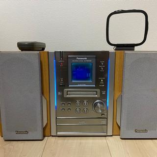Panasonic MD,CD,カセットコンポ 音楽再生機器