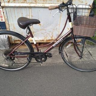 ルノーマーク入りの自転車