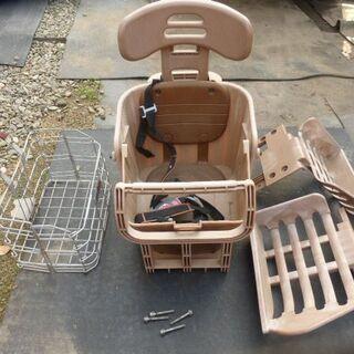 子供載せシート+折り畳みかご